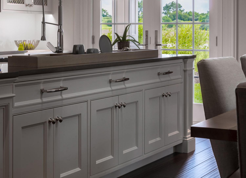 Arbor Mills Transitional Kitchen Island Cabinet