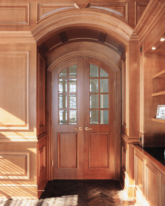 Arbor Mills Custom Library with Paneling