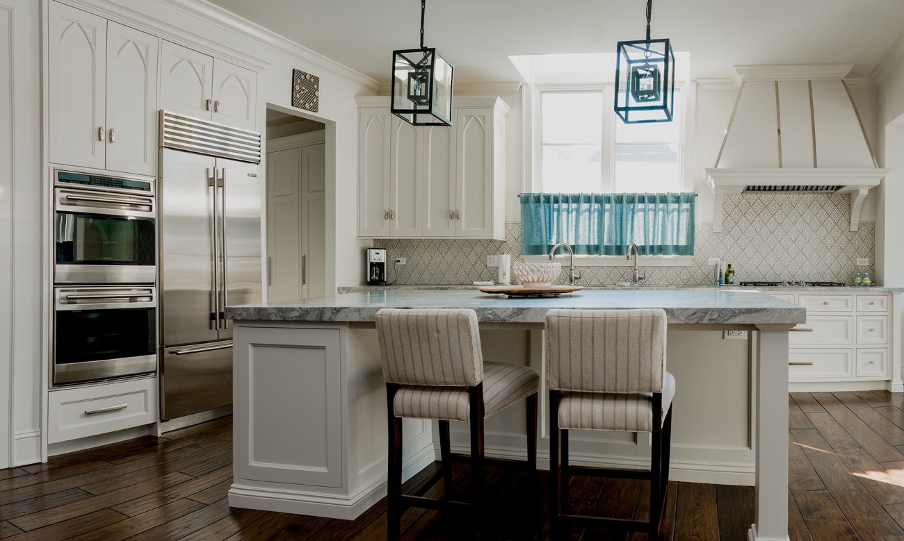 Arbor Mills Custom White Kitchen
