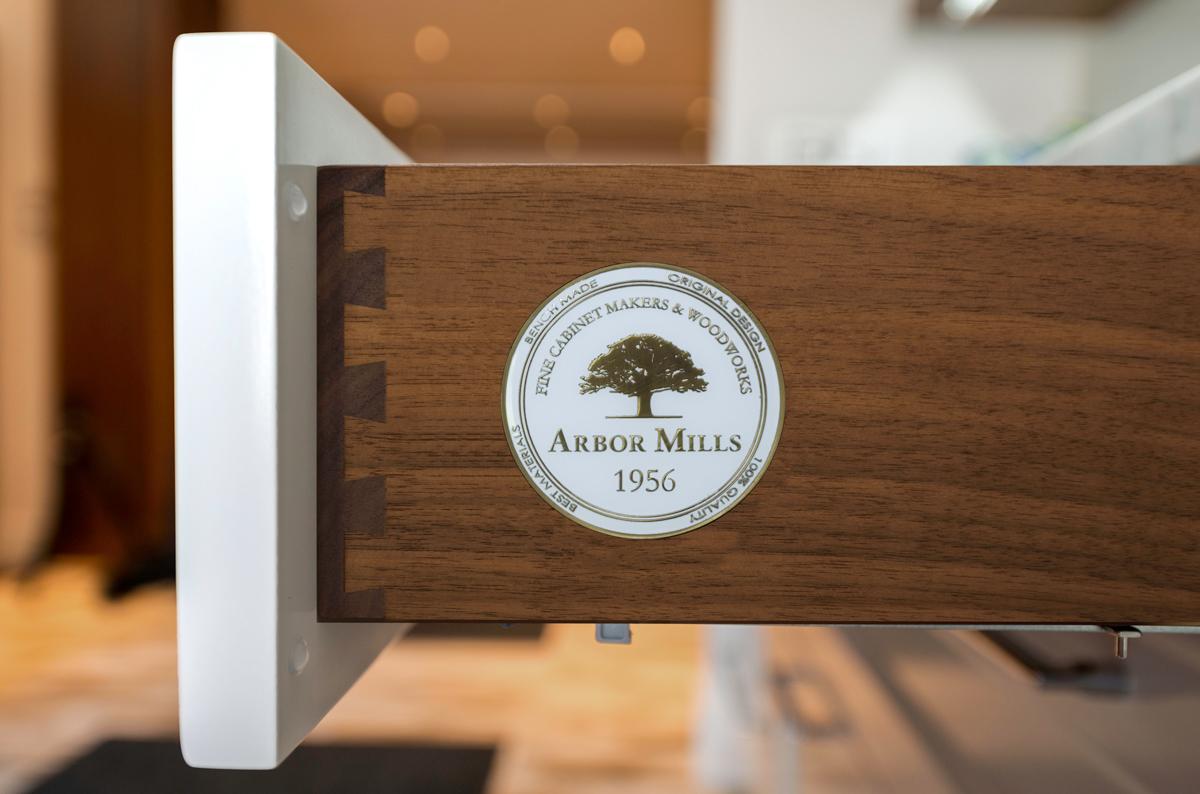 Arbor Mills Custom Solid Walnut Dovetail Drawer