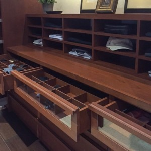 System 5 Glass Drawer Fronts