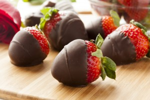 Gourmet Chocolate Covered Strawberries for Valentine's Day
