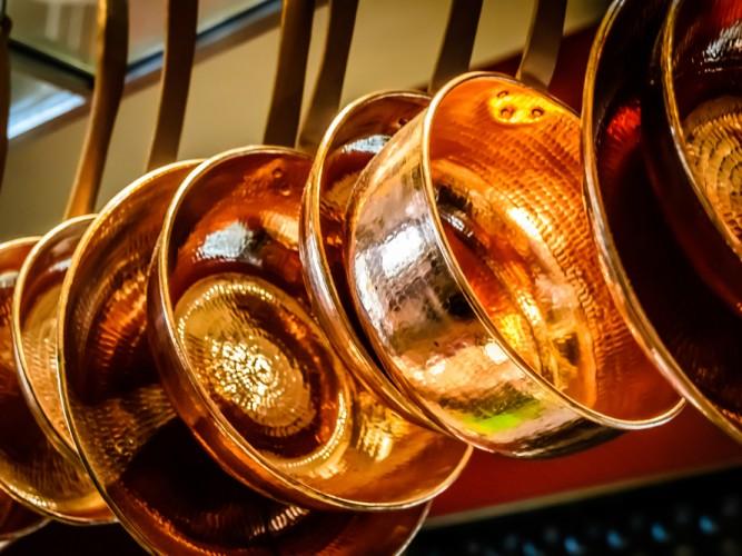 Copper in the kitchen