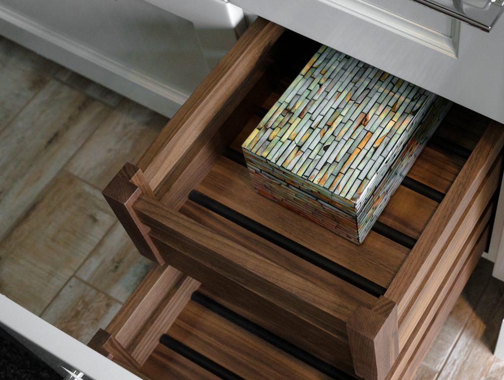 Arbor Mills BIN Open Drawers with non slip grip bottom